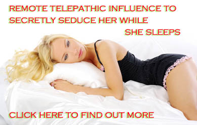 seduce girls while they sleep